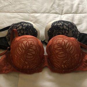 Beautiful Victoria's Secret bras